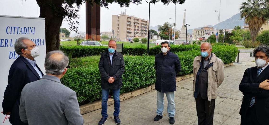La memoria del fare, cittadini ricordano a Palermo i giornalisti uccisi